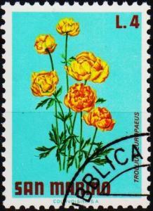San Marino.1971 4L S.G.922 Fine Used