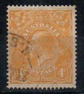 Australia Scott 31a Used (Catalog Value $32.50)