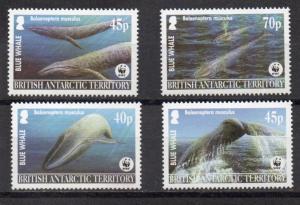 British Antarctic Territory 326-329 MNH
