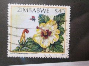Zimbabwe #924 used  2019 SCV = $0.50
