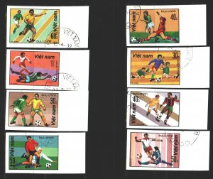 Vietnam. 1982. 1214u-21u. Football. USED.
