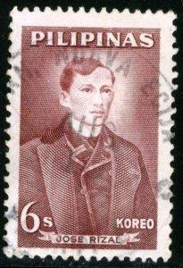PHILIPPINES - #857 - USED -1962 - PHILIP144DTS3