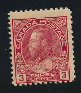 Canada Stamp Scott #109, Mint Hinged - Free U.S. Shipping, Free Worldwide Shi...