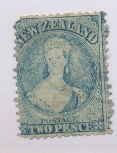 New Zealand Stamp Scott #28C, Used, Perf 13 - Free U.S. Shipping, Free Worldw...