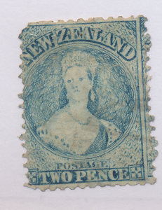 New Zealand Stamp Scott #28C, Used, Perf 13 - Free U.S. Shipping, Free Worldw...
