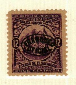 Salvador #O134 MNG CV$17.00