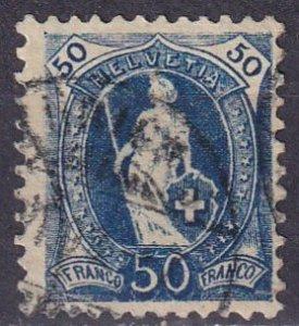 Switzerland #86a F-VF Used  CV $23.00 (S10440)