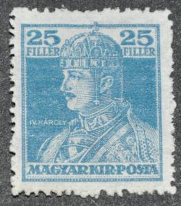 DYNAMITE Stamps: Hungary Scott #130 – UNUSED
