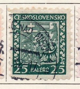 Czechoslovakia 1929 Early Issue Fine Used 25h. 086372