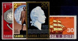 SAMOA QEII SG349-352, complete set, NH MINT.