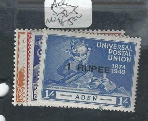 ADEN  (P1304B) UPU  SG 32-5  MOG