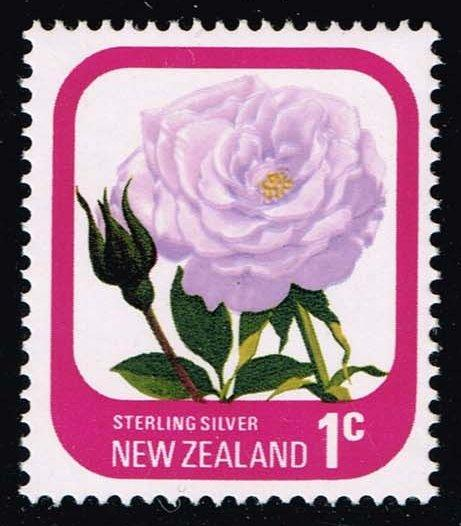 New Zealand #584 Sterling Silver Rose; MNH (0.25)