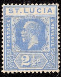 Saint Lucia Scott 81 Unused hinged.