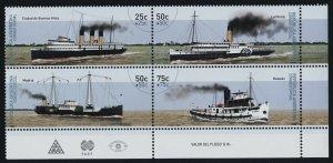 Argentina B191 BR Block MNH Ships, River Boats