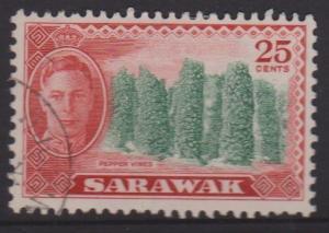 Sarawak Sc#190 Used