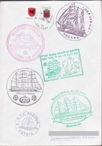 LATVIA SHIP RACES 2003 REGISTERED TO NAGORNO KARABAKH ARMENIA AP485 GERMANY UK