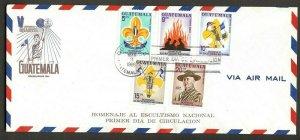 1966 Guatemala Boy Scouts Conference FDC