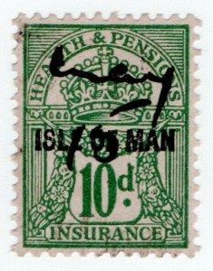 (I.B) George V Revenue : Health & Pensions Insurance 10d (Isle of Man)