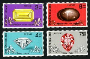 Thailand Stamps # 624-7 VF OG LH Set of 4 Scott Value $34.20