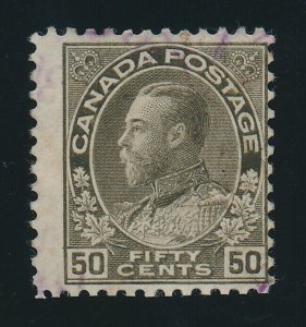 Canada Stamp Scott #120, Used