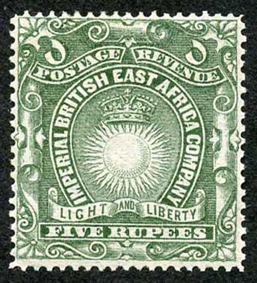 KUT 1890 SG19 5R Grey-Green m/mint