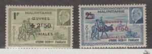 Mauritania Scott #B15A-B15B Stamps - Mint Set