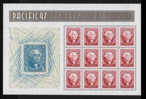 US Scott #3140 60¢ Pacific 97  MNH F-VF