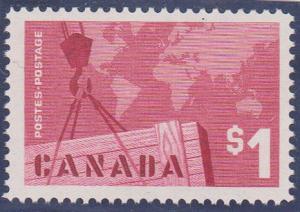 Canada - 1963 $1 Export VF-NH #411i