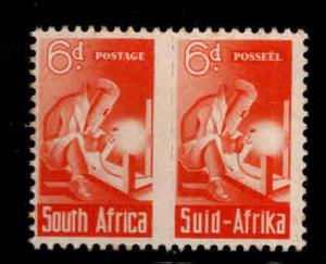 South Africa Scott 96 Welder pair of stamps MNH** 1943