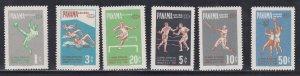 Panama  # 430-432, C224-226, 3rd Pan Am Games, LH, 1/3 Cat.