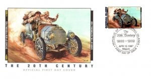 Marshall Islands, Worldwide First Day Cover, Automobiles