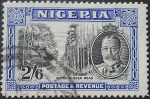 Nigeria 1936 GV Two Shillings and Six Pence SG 42 used