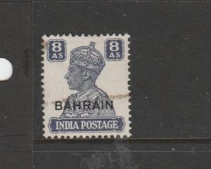 Kuwait 1945 GV1 white Background, 8As Used SG 61