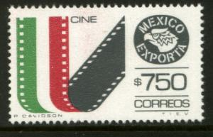 MEXICO Exporta 1586, $750P Movies Fosfo Paper 10. MINT, NH. VF.