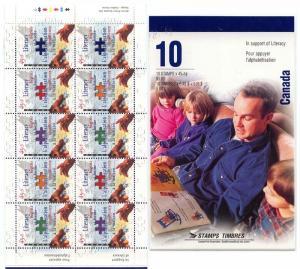 Canada - 1996 Literacy Booklet #BK193b (Pane #B13a)