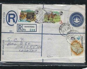 LESOTHO  (PP0310B) 1979  RLE+2C+3C+4C  MAFETENG TO MASERU
