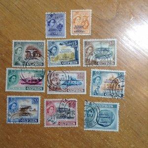 Cyprus  # 184-94  Used