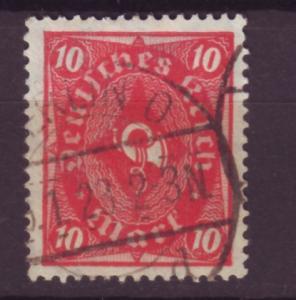 J13680 JLstamps 1921-2 germany used #181 wmk 126 posthorn