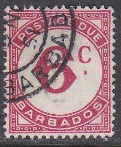 Barbados Sc #J9 Used; Mi #9