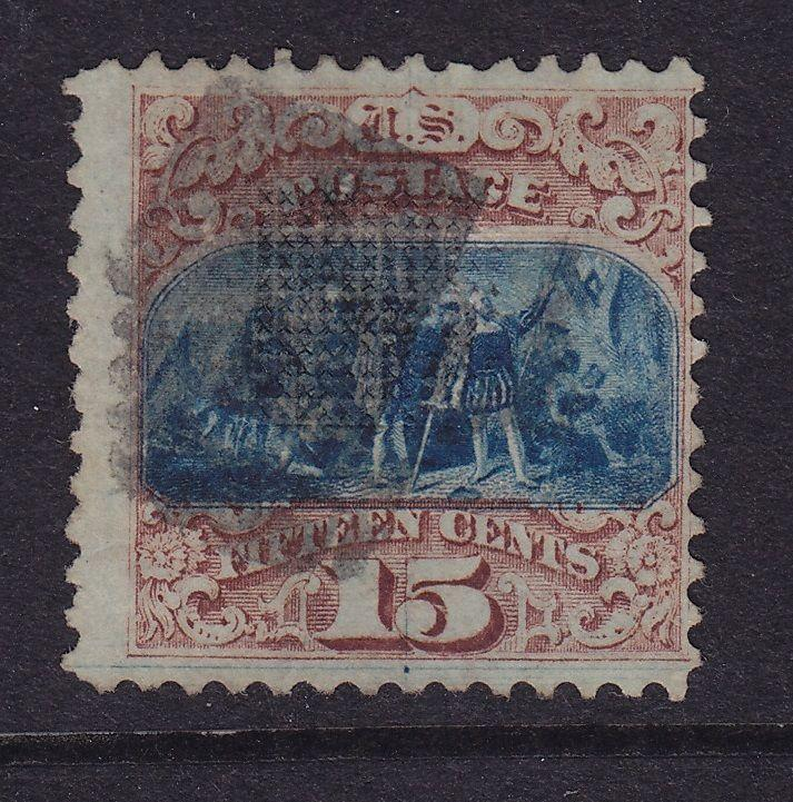 118 Type l used with neat light cancel scarce nice color cv $ 800 ! see pic !