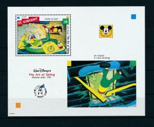 [23290] St. Vincent 1992 Disney Movie The art of skiing MNH