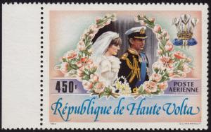 Upper Volta - 1983 - Scott #C276 - MNH - Royal Wedding