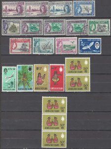 COLLECTION LOT OF # 1685 GILBERT & ELLICE 22 STAMPS 1946+ CLEARANCE
