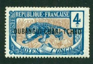 Ubangi-Shari 1915 #3 MH SCV (2018) = $0.70