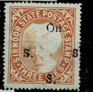India, Princely State Sirmoor / Sirmur,  Inde Indien