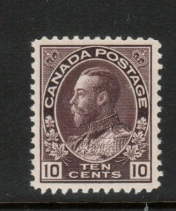 Canada #116 Extra Fine Never Hinged Gem **With Certificate**