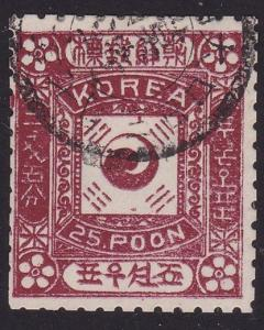 KOREA An old forgery of a classic stamp.....................................2361