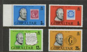 Gibraltar - Scott 378-381 - General Issue -1979 - MNH - Set of 4 Stamps
