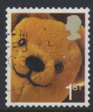 Great Britain SG 2571  SC# 2318  Used Smilers Booklet Teddy Bear