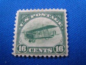 UNITED STATES 1918 AIRMAIL - SCOTT #C2  -   MH
